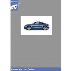 Audi TT 8J (06>) Direkt-Schaltgetriebe 02E Frontantrieb - Reparaturleitfaden