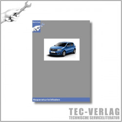 Dacia Sandero 2 (ab 2012) Heizung und Klimaanlage - Werkstatthandbuch