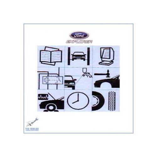 ford explorer 95 00 fahrwerk werkstatthandbuch f r 25. Black Bedroom Furniture Sets. Home Design Ideas