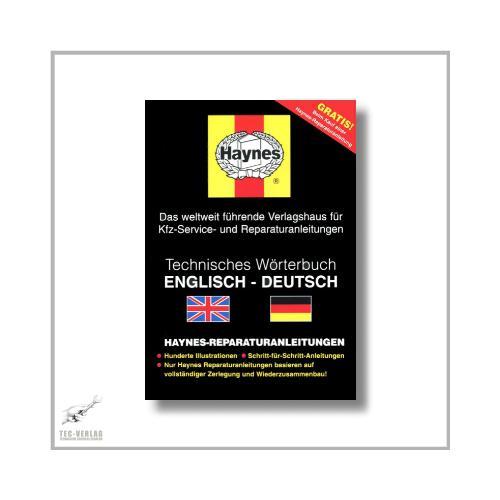 Haynes chilton technisches w rterbuch bersetzungsbuch for Englisch deutsche ubersetzung